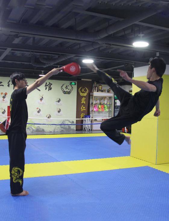 武术教练 —— 邵虎